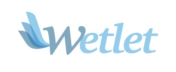 wetlet logo by motivazia